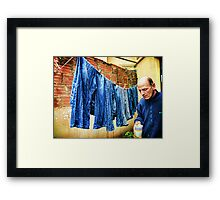 Feeling Nearly Faded As My Jeans Framed Print