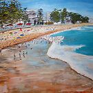 Manly Beach  by gillsart