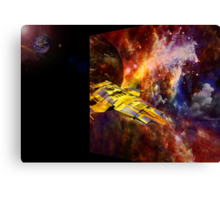 Parameters of Space Canvas Print