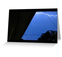 Storm Chase 2011 63 Greeting Card