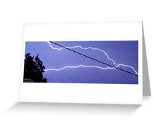 Storm Chase 2011 83 Greeting Card