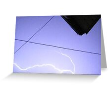 Storm Chase 2011 108 Greeting Card