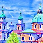 Salzburg, Austria by Sabine Jacobs