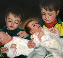 Big Brothers, Little Sisters by Cathy Amendola