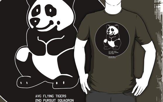 "Flying Tigers AVG 2nd Pursuit ""Panda Bears"" by warbirdwear"