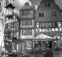 old town in b/w by eugenz