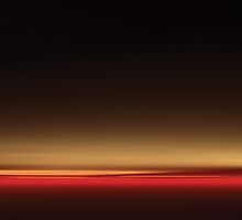 Night Sky at Sunset Panorama by DLKeur