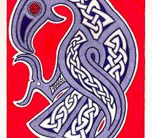 Viking Raven by Vítor  González