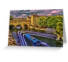 Pulteney Bridge Greeting Card