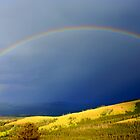 Rainbow over Valley by mhm710