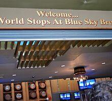 Stop @ Blue Sky Brewery by D. D.AMO