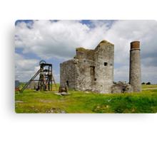 Magpie Mine at Sheldon, Derbyshire Canvas Print