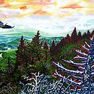 'View from Grandfather Mountaln' by Jerry Kirk