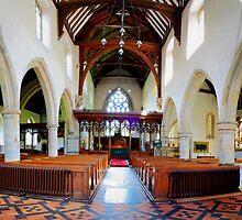 St John The Baptist, Penshurst - Nave by Dave Godden