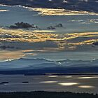 Morning Light over Lake Champlain by Michael Schaefer