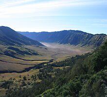 View from Ngadas, Jawa Timur by Tim Coleman