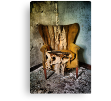 Back Stage Seat Canvas Print