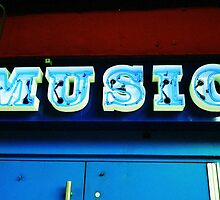 HOB Music Sign by John Netto
