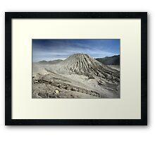 View from Bromo Mountain (Gunung Bromo) Framed Print