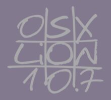 """Mac OS X Lion """"Noughts and Crosses"""" by Alisdair Binning"""