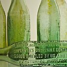 green bottles  by richard  webb