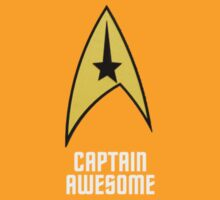Captain Awesome! by ideedido