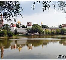 Novodevichy Convent by KatrinKirieshka