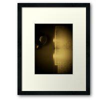"""""""YOGA"""" Framed Print"""