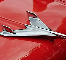 Chevrolet Bel Air hood ornament (1956) by Frits Klijn (klijnfoto.nl)