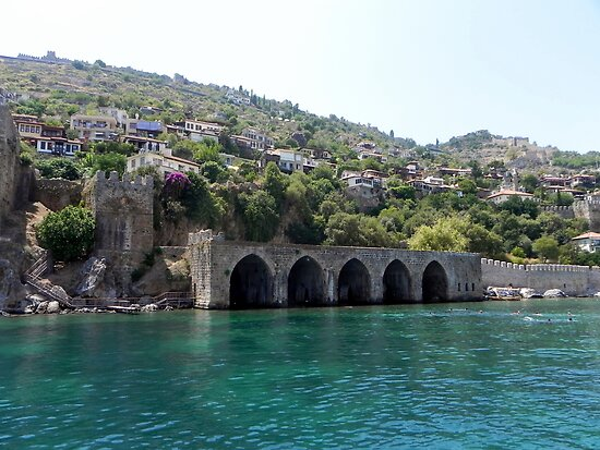 Ancient shipyard of Alanya, TR by ColdFusion