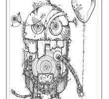 little robot by Paul  Dunne