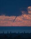 Waterspout off the Tweed coast, #2 of 31 July 2009 by Odille Esmonde-Morgan