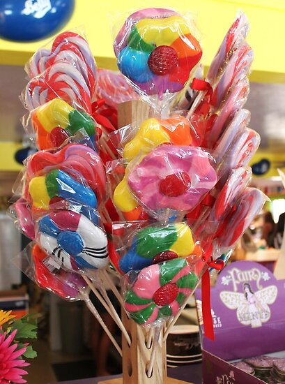 Lollipop, lollipop, oh lolli lolli lolli by DonnaMoore