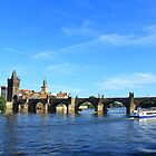 Cruising Along the Vltava River by AndrewWilson94