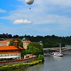 Hot Air Balloon in Prague by AndrewWilson94