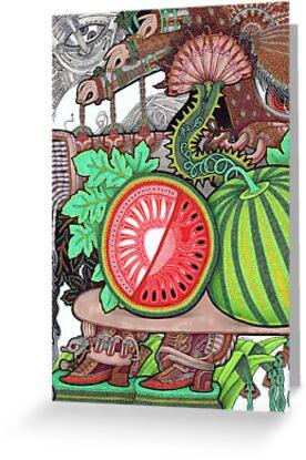 Watermelon by Yuliya Art
