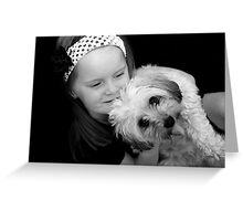 Girls Best Friend! Greeting Card