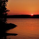 Northwoods Sunset by AuntieJ
