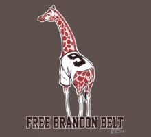 Free Brandon Belt Giraffe Kids Clothes