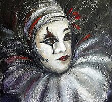 Pierrot by Ivana Pinaffo