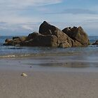 Lone Rock 3 - Bayble Beach, Lewis, Outer Hebrides by wulliam