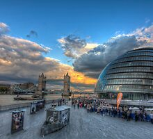 Contrasting Architecture by OllyPlumstead