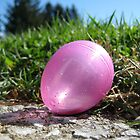 Glittery Egg with Sunlight by micala