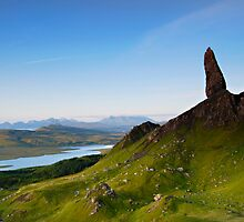 Sloping Storr Scene, Old Man Of Storr, Skye by jamieweeden