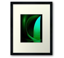 Inside Levity III - shapes and colours Framed Print