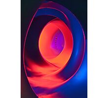 Shapes and Curves - Inside Levity III Photographic Print