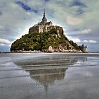 Mont Saint Michel Viewed by the Bay   by paolo1955