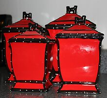Canisters in Red by WeeZie