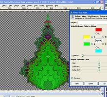WIP 2 Christmas Tree Greening by barrowda