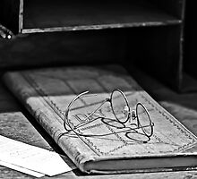 glasses and the day book by Gerry Daniel